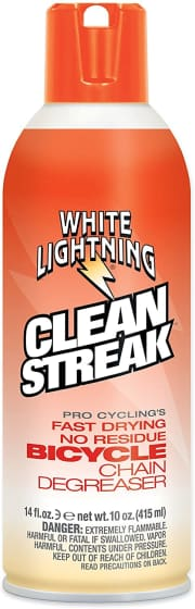 White Lightning Clean Streak Dry Degreaser 14-Oz. Can. It's the best price we could find by $7.