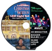 National Lampoon's LED Multicolor Christmas Lights. Save $9 over the next best price we found.