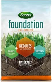 Scotts Foundation Soil Conditioner 5000 sq. ft. Bag. That's a savings of $5 off list.