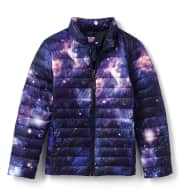 """Lands' End Kids' Insulated Down Alternative ThermoPlume Jacket. Apply coupon code """"COZY"""" for a savings of $44."""