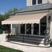Best Choice Products Retractable Patio Awning for $150 + free shipping