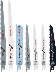 Bosch 7-Piece Reciprocating Saw Blade Set. That's $6 under what Lowe's charges.