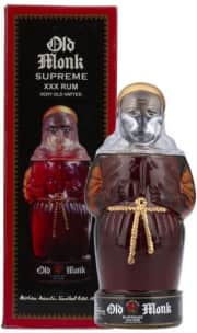 Old Monk Supreme XXX Rum (Very Old Vatted) 750mL Bottle. Save $10 off list price.