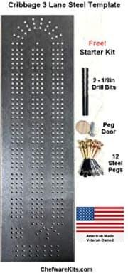 Cribbage Board Template Starter Kit. Save $15 off list price.