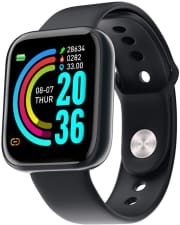 "Lqrly Fitness Tracker Smart Watch. Save $38 when you apply coupon code ""3C8MU246."""