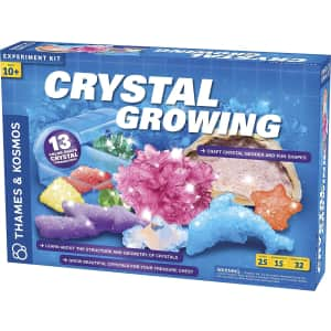 Thames & Kosmos Crystal Growing Science Kit for $17