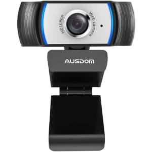 Ausdom 1080p Webcam for $8