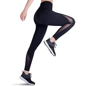 Trideer Women's Yoga Pants with Pockets for $6