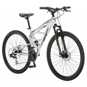 Mongoose Impasse Mens Mountain Bike, 29-Inch Wheels, Aluminum Frame, Twist Shifters, 21-Speed Rear for $700
