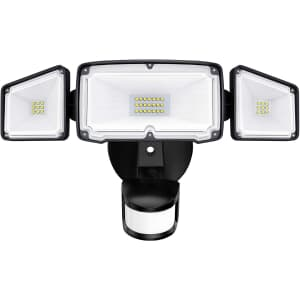 Amico 40W 3-Head LED Security Light for $21