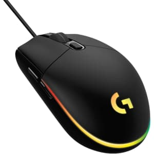 Logitech G203 LightSync Wired Optical Gaming Mouse for $33