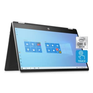 """HP Pavilion x360 10th-Gen. i5 15.6"""" Touch 2-in-1 Laptop for $599 for members"""