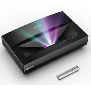Bomaker Polaris 4K Ultra Short Throw Laser TV Projector for $2,000
