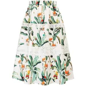 Grace Karin Women's Boho Floral Skirt for $13