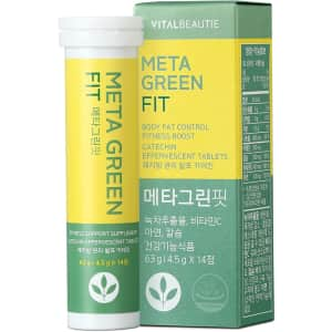 Vital Beautie Meta Green Fit 14-Ct. Supplement Tablets for $24