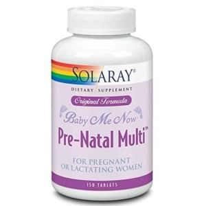 Solaray Baby Me Now Prenatal Multi Orig Form | 150 Count for $22