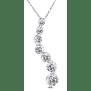 Szul 1-TCW Diamond Journey Pendant for $432