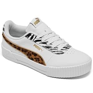 PUMA Women's Carina Sneakers for $33