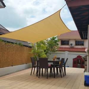 Artpuch 10x13-Foot Sun Shade Sails Canopy for $37