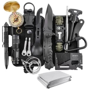 Verifygear 17-in-1 Emergency Survival Kit for $23