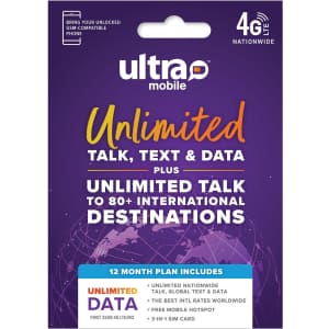Ultra Mobile Sim Kit Bundle for $430 for members