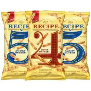 Frito Lay Rold Gold Flavored Pretzel Sticks Variety 3-Pack for $13