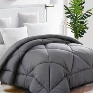 Tekamon All Season Down Alternative Queen Comforter for $23