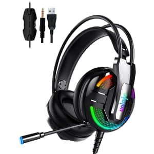 Uniojo Gaming Headset for $12