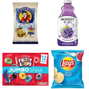 Back to School Snacks & Drinks at Amazon: Up to 40% off