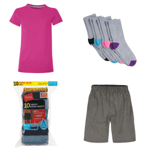 Hanes Back to School Checklist: Up to 40% off