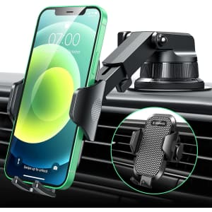 Vanmass Dashboard Phone Holder for $10
