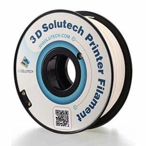 3D Solutech PETG175WHT Real White 1.75mm PETG 3D Printer Filament 2.2 LBS (1.0KG) for $26