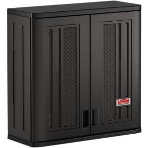 Suncast Commercial Blow Molded Wall Cabinet for $120