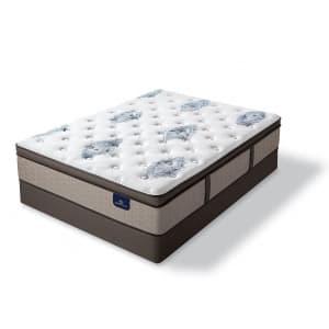 Serta Perfect Sleeper Baymist Cushion Firm Pillowtop Queen Mattress Set for $498 for members
