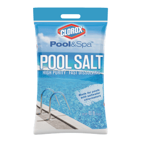 Clorox Pool & Spa 40-lb. Pool Salt for Saltwater Swimming Pools for $6