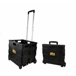 Olympia Tools 85-010 Grand Pack-N-Roll Portable Tools Carrier with Telescopic Handle, 80 Lb. Load for $27