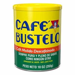 Cafe Bustelo Caf Bustelo Decaf Medium Roast Ground Coffee, 10 Ounces (Pack of 12) for $102