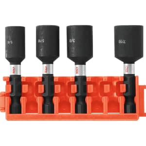 "Bosch 4-Piece 1-7/8"" Nutsetters w/ Clip for $11"