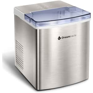Dreamiracle 33-lb. Countertop Ice Maker for $108