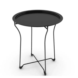 Atlantic Metal End Table for $27