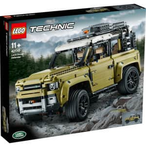 LEGO Technic: Land Rover Defender Collector's Model Car for $210