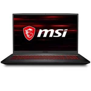 "MSI GF75 Thin Gaming Laptop: 17.3"" 144Hz Display, Intel Core i5-10300H, NVIDIA GeForce GTX 1650, for $1,182"
