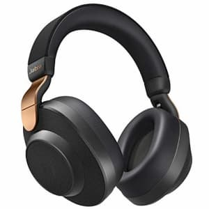 Jabra Elite 85h Wireless Noise-Canceling Headphones, Copper Black Over Ear Bluetooth Headphones for $169