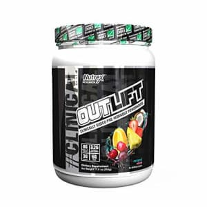 Nutrex Research Outlift | Clinically Dosed Pre-Workout Powerhouse, Citrulline, BCAA, Creatine, for $39