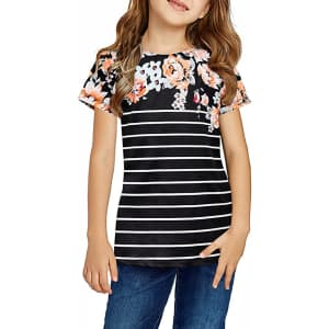 Storeofbaby Girls' Casual T-Shirt for $10