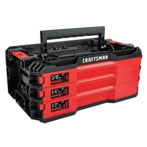 Craftsman Versastack 216pc SAE and Metric Mechanics Tool Set for $119