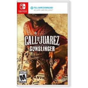 Call of Juarez: Gunslinger for Nintendo Switch for $13