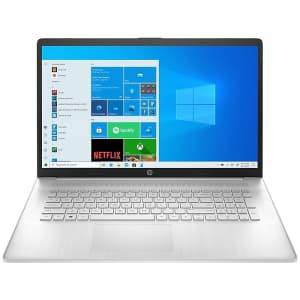 """HP 11th-Gen. i3 17.3"""" 1080p Laptop for $540"""