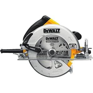 DEWALT 7-1/4-Inch Circular Saw with Electric Brake, 15-Amp (DWE575SB) for $114