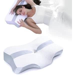 Yarkor Orthopedic Contour Memory Foam Pillow for $24